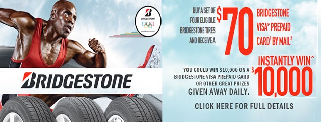 Bridgestone Olympic Offer