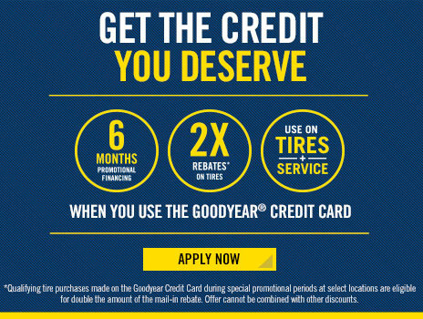Goodyear Financing Available at Century Tire & Auto Service in Peabody, MA 01960